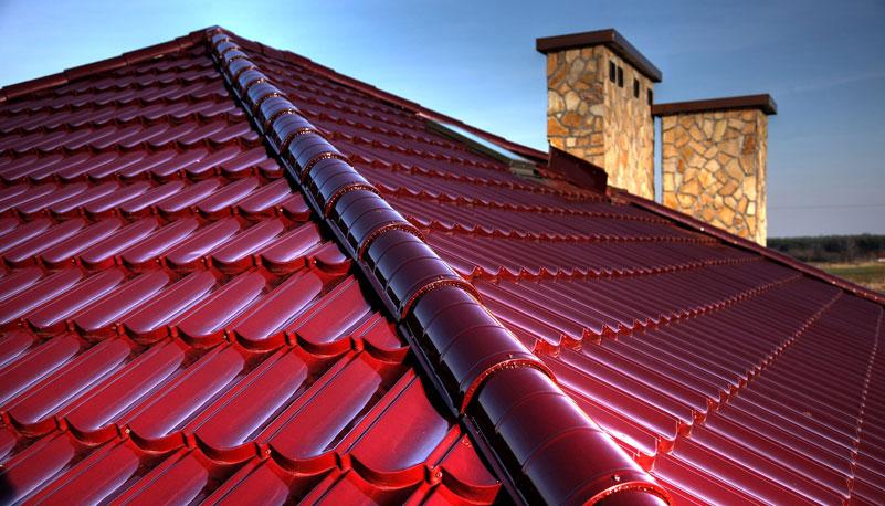 Plieniniai stogai