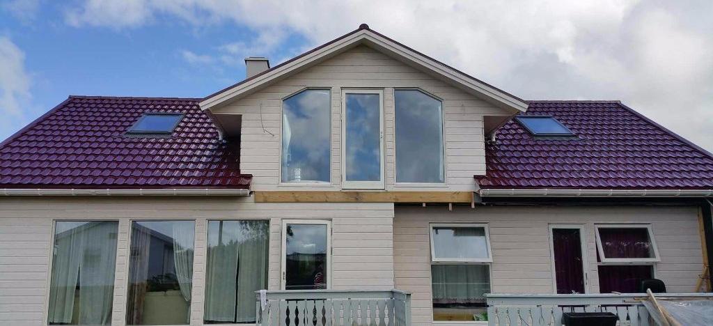 ICOPAL kompozicinės čerpės stogas