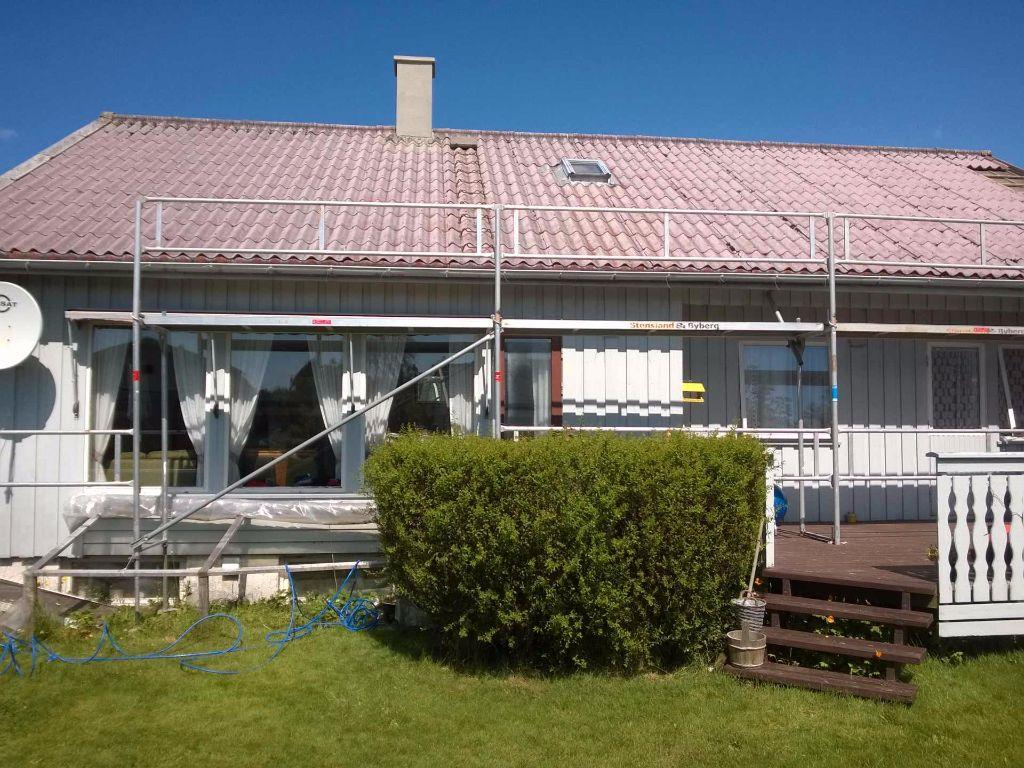 namo stogas prieš renovaciją