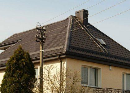 Plieninis čerpinis stogas