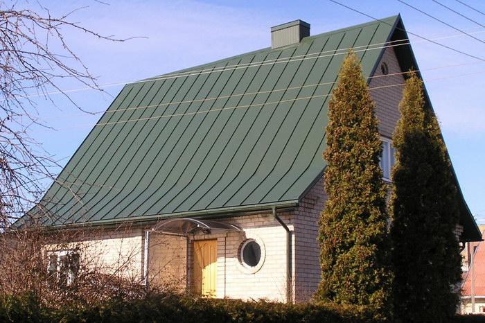 Plieninis klasikinis stogas