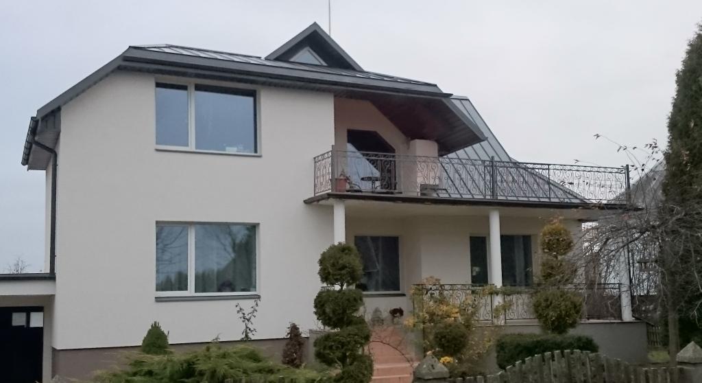 klasikinis valcuojamas stogas