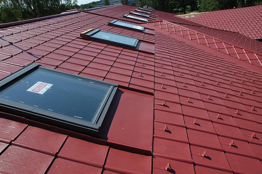 prefa aliuminis stogas