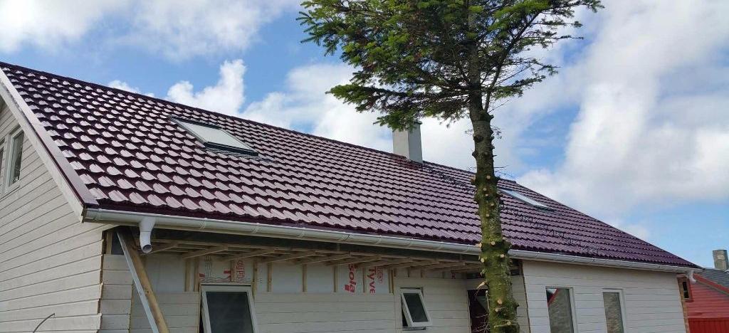 kompozicinių čerpių stogo danga
