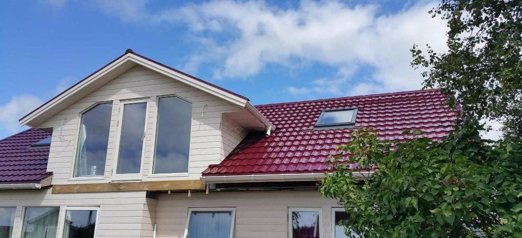 kompozicinių čerpių stogas